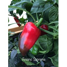Fresno Supreme Pepper Seeds