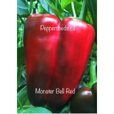 Monster Bell Red